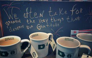 Coffee gratitude